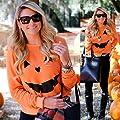 AutumnFall Women's LANTERN PUMPKIN Halloween Costume T-Shirt