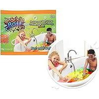 Zimpli Kids 5485 Baff Foil Bag, 24 Count CDU, Make Water Crackle and Change Colour, Children's Sensory & Bath Toy