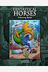 Fantastical Horses: Coloring Book Paperback