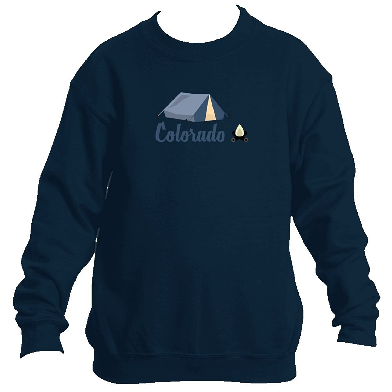 Colorado Camping & Camp Fire - Colorado Youth Fleece Crew Sweatshirt - Unisex for cheap