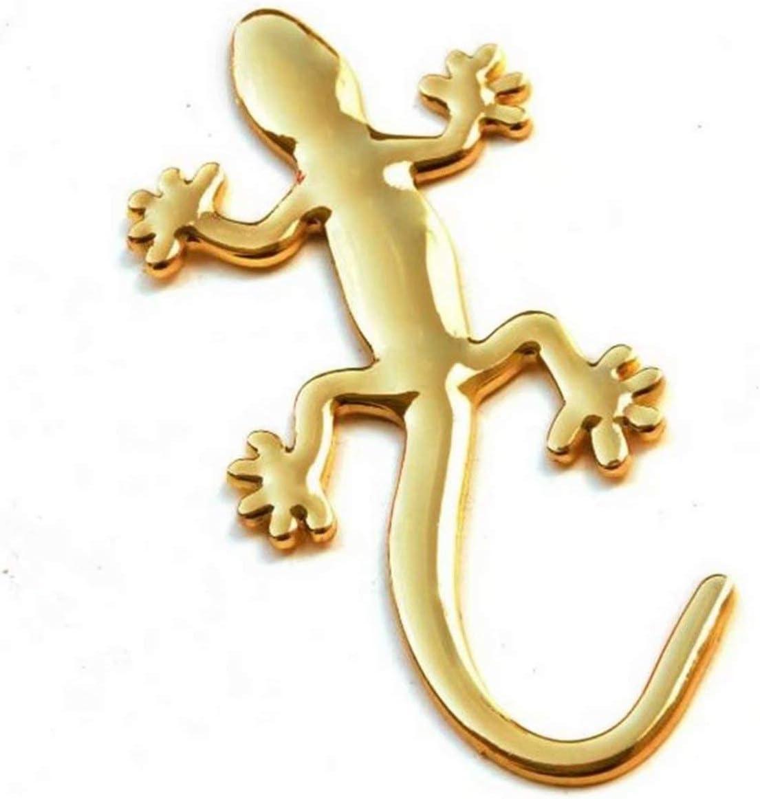 2pcs Car Door Sticker Car Sticker Reflective Strips Decal Body Gecko Decoration