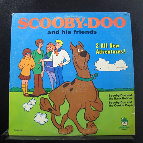 Scooby-Doo And His Friends - 2 All New Adventures! - Lp Vinyl Record (Scooby Doo Vinyl Record)