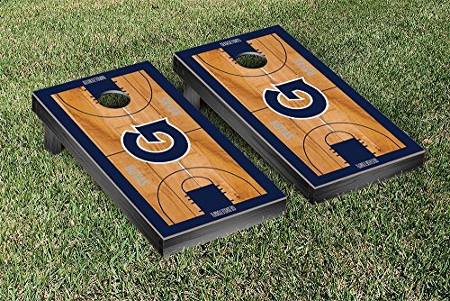 Georgetown Hoyas Cornhole Game Set Basketball Court Version by Victory Tailgate