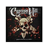 Cypress Hill Skull & Crossbones Patch Band Art Hip Hop Music Sew On Applique