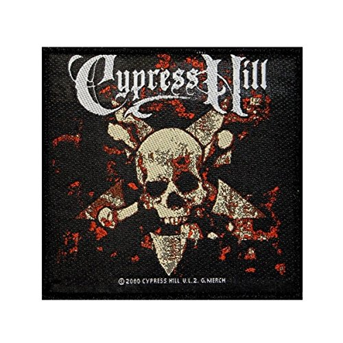 Cypress Hill Skull & Crossbones Patch Band Art Hip Hop Music Sew On Applique by Mia_you