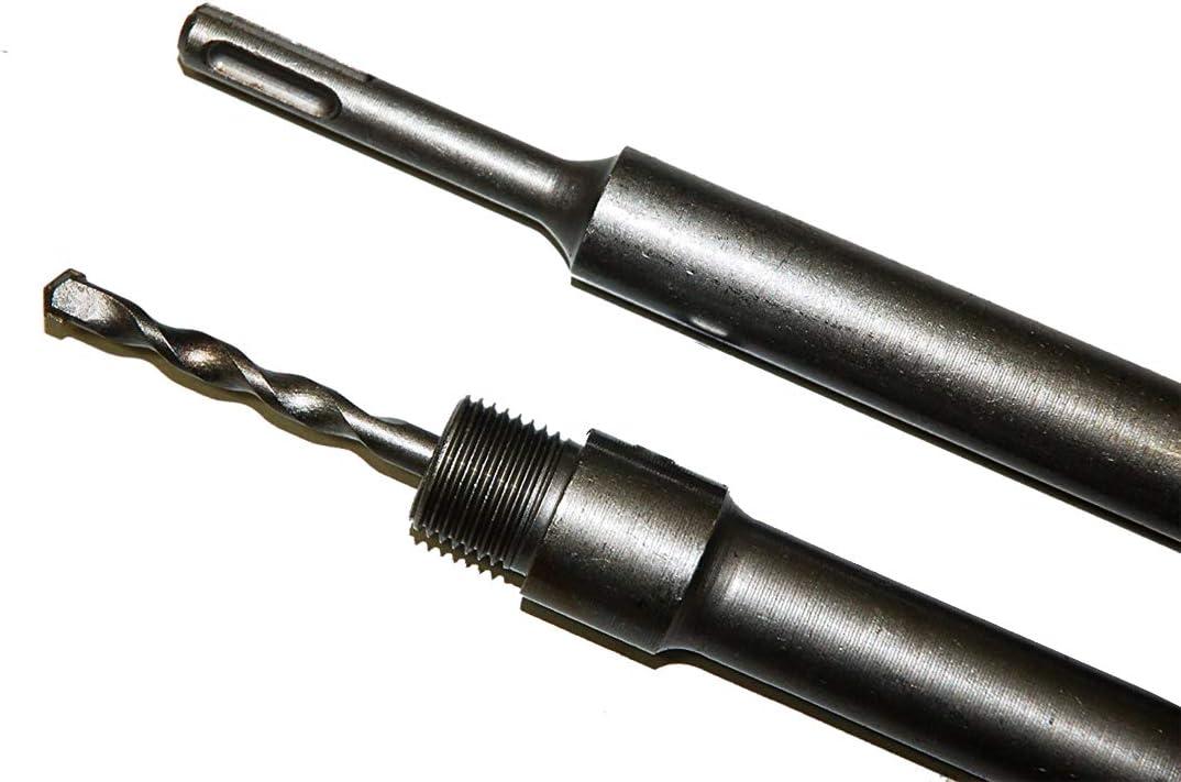 SDS-Max Aufnahmeschaft f/ür Bohrkronen 200mm M22 Gewinde