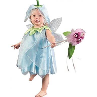 Amazon.com: Child\'s Infant Toddler Blue Fairy Halloween Costume ...