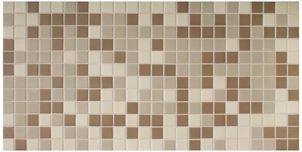Dal-Tile DK1211MS1P-DK12 Keystones Blends Tile, 1'' x 1'', Khaki Blend