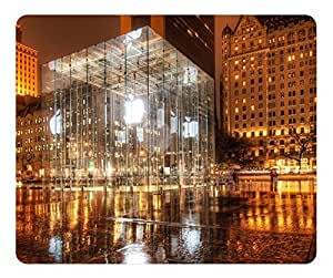 Apple Store New York Mouse Pad - Durable Office Accessory Desktop Laptop MousePad and Gifts Gaming mouse pads by runtopwell