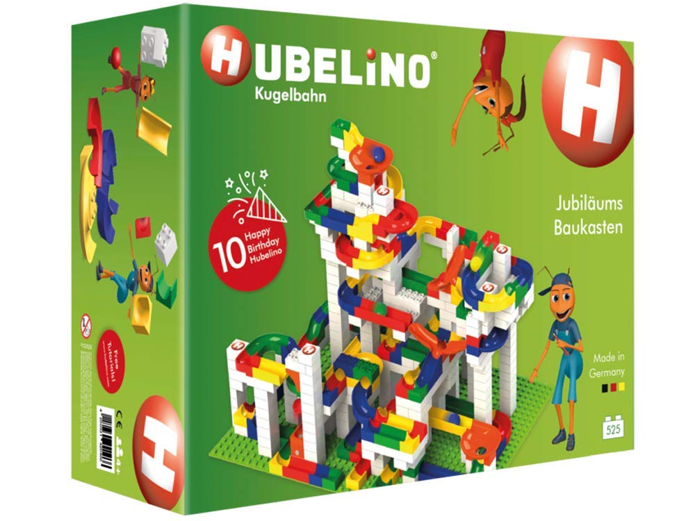 Hubelino 記念品ボックス 525ピースデラックスセット オリジナル商品 ドイツ製。 - 認定済みで受賞歴のある大理石ラン - Duploと   B079YVGL4S