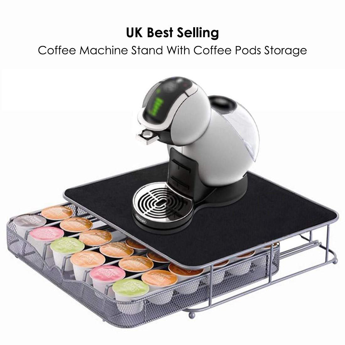 Jjonlinestore- 36 Coffee Pods Dolce Gusto Coffee Capsule Drawer Storage: Amazon.es: Hogar