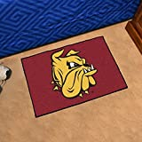 FANMATS NCAA University of Minnesota-Duluth Bulldogs Nylon Face Starter Rug