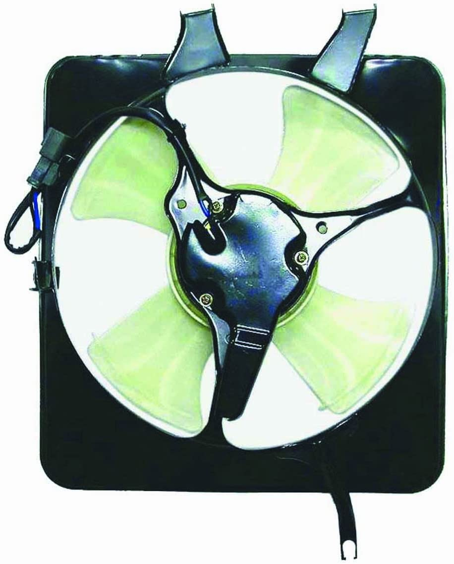 DEPO 327-55001-200 Replacement A//C Condenser Fan Assembly This product is an aftermarket product. It is not created or sold by the OE car company