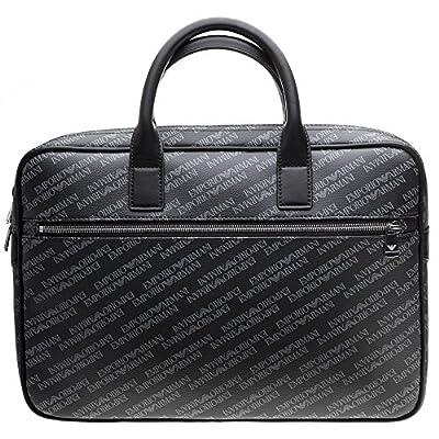 e8aa59862 new Emporio Armani Logo Print Mens Shoulder Bag Black - svarcenieki.lv