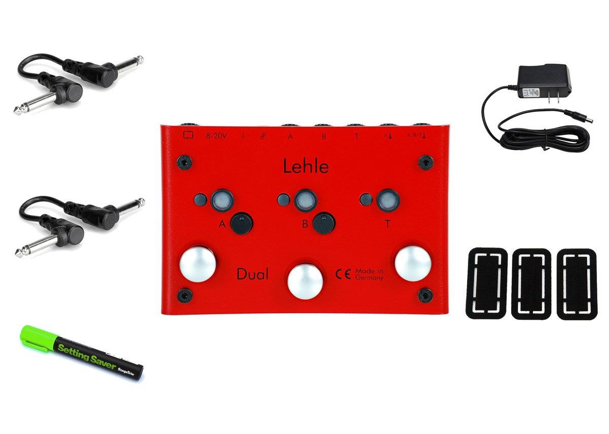 Lehle Dual SGoS Foot Switch PRYMAXE PEDAL BUNDLE