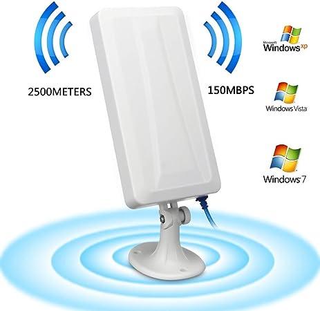 Dreamyth Amplificador de Antena WiFi, Extensor de Largo ...