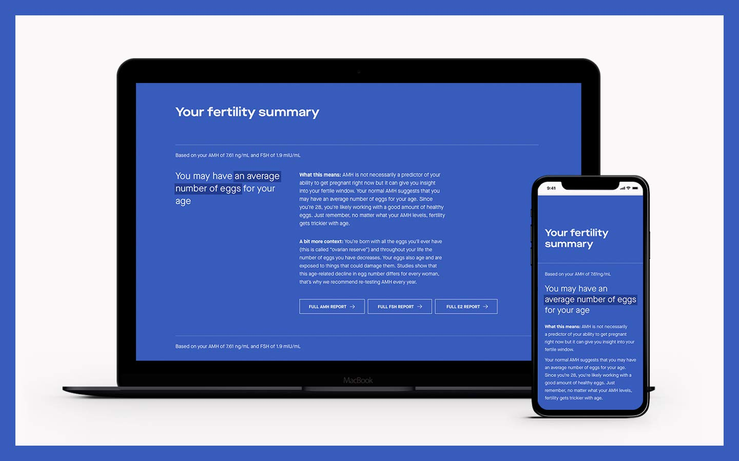Modern Fertility Test - Women's Health Hormone Test You Can Take at Home - Not Available NY, NJ, RI by Modern Fertility (Image #7)