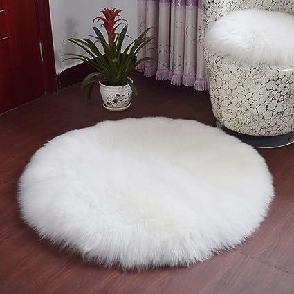Amazon.com: Bokeley - Funda para silla de piel de oveja ...
