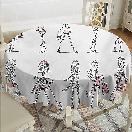 XXANS Mantel Redondo, diseño de Dibujos Animados con Zapatos de ...