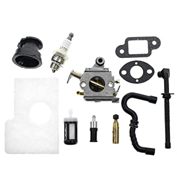 Amazon com: Carbhub C1Q-S57B Carburetor for Stihl MS170