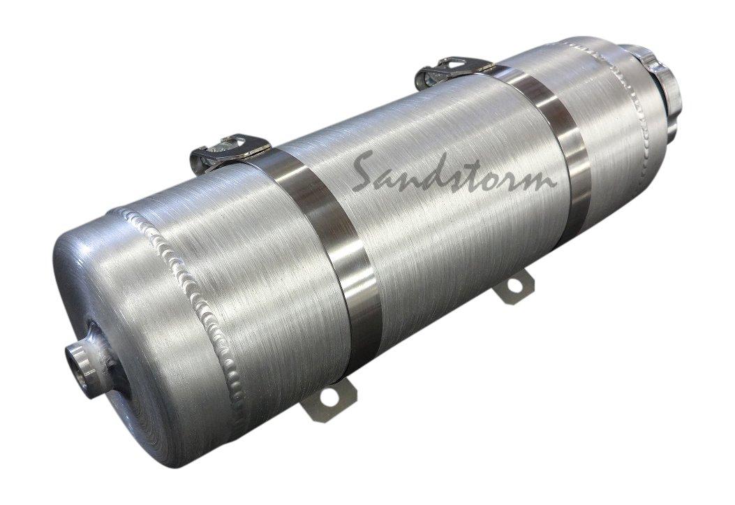 GO-Kart Sandstorm 6x10 Vertical Spun Aluminum Gas Tank Made in the USA! Mini Bike 1 Gallon
