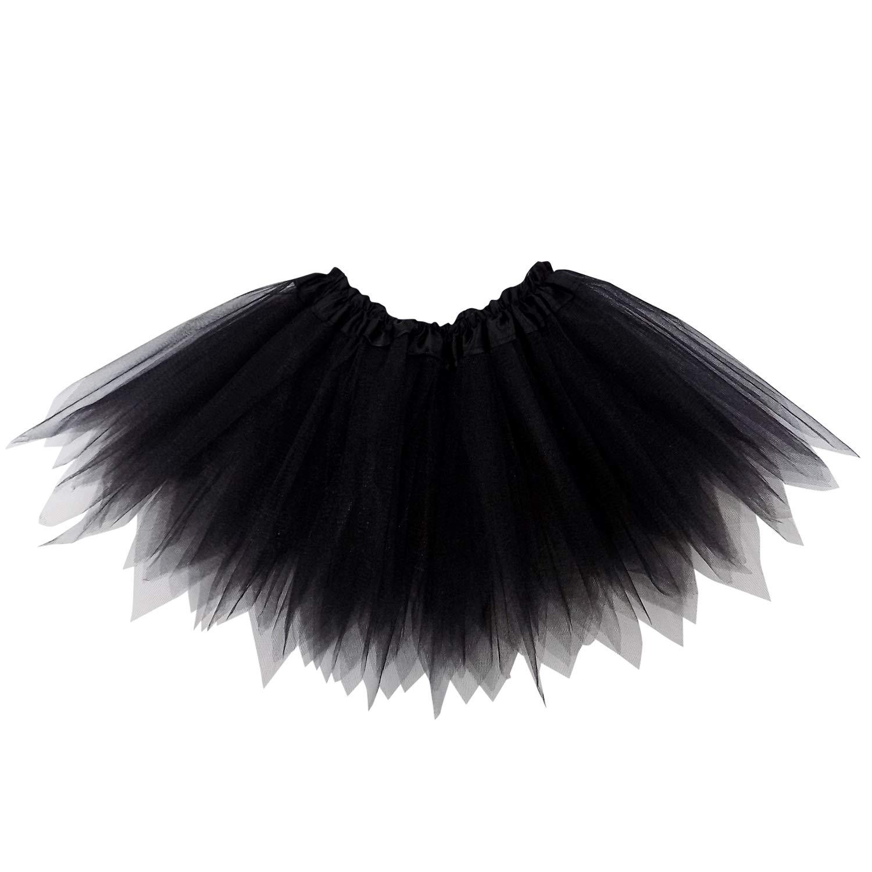 6f05b24e9a6 Amazon.com  So Sydney Adult Plus Kids Size Pixie Fairy Tutu Skirt Halloween Costume  Dress Up  Clothing