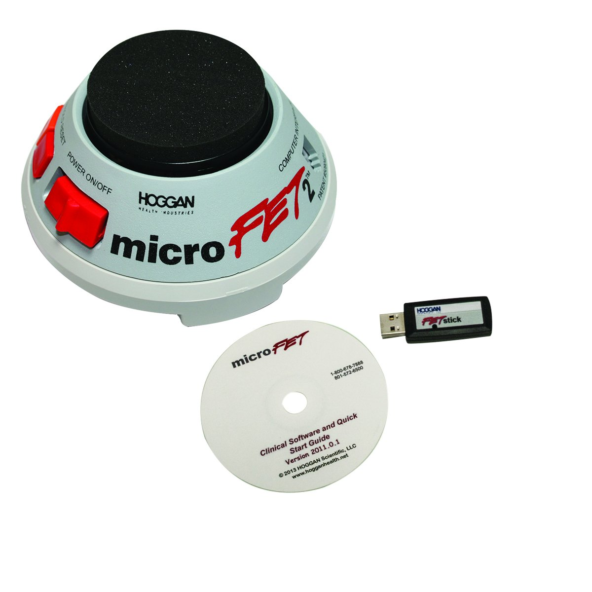 MicroFet 12-0381WC MicroFET2 MMT, Wireless with Clinical Software Package