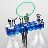 Anself DIY CO2ジェネレータ システムキット 圧力ゲージ 安全エアーフロー 調整可能 水族館 水槽植物 アクセサリー