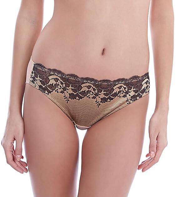 b78f52eb20cb Wacoal Lace Affair Brief in Graphite/Black OR Frappe/Cappuccino (WA846256)  *Sizes S-XL*: Amazon.ca: Clothing & Accessories