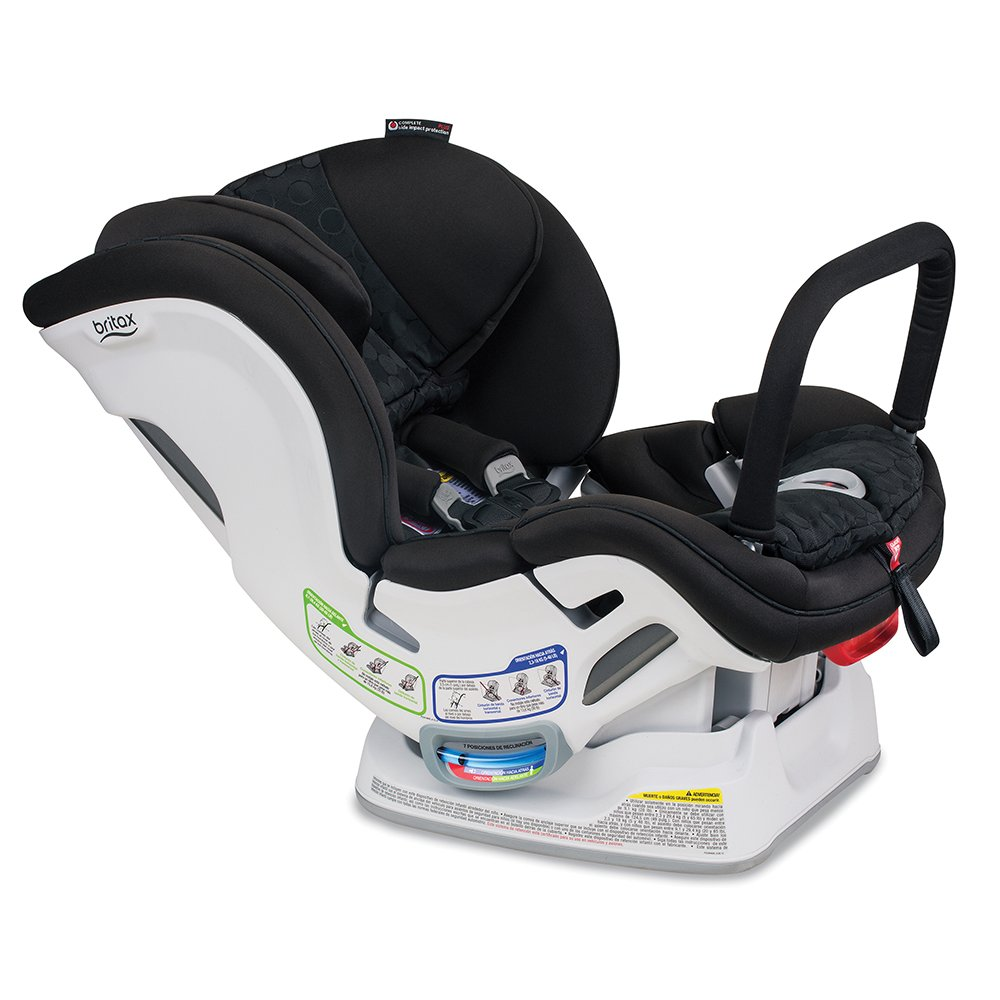 Britax Boulevard ClickTight Anti-Rebound Bar Convertible Car Seat, Circa