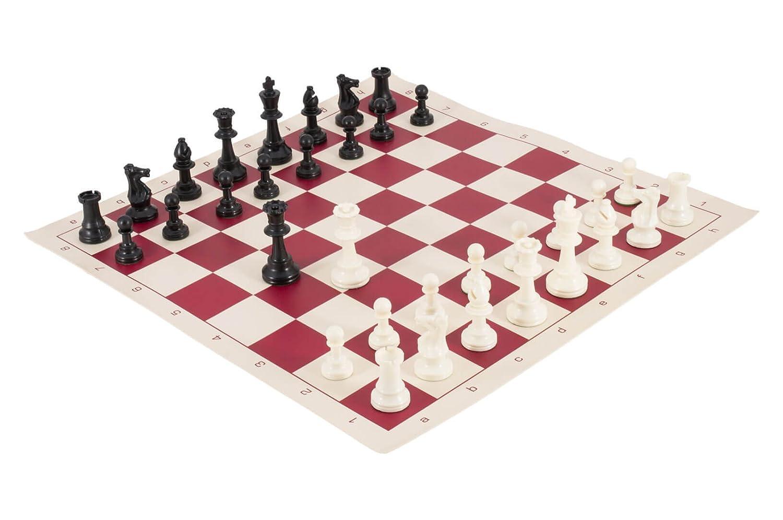 肌触りがいい トーナメントチェスの駒とチェスボードコンボ – by ソリッドプラスチック – – by USチェスフェデレーション B075214Y3Z B075214Y3Z バーガンディー, ニシキチョウ:8ebb9d21 --- nicolasalvioli.com