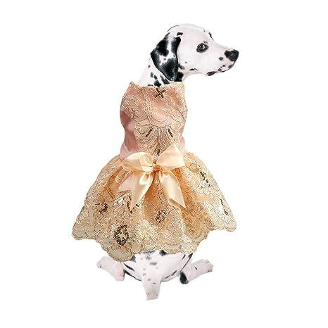 DELIFUR Delifu - Vestido para Perro, para Mascota, para Boda ...
