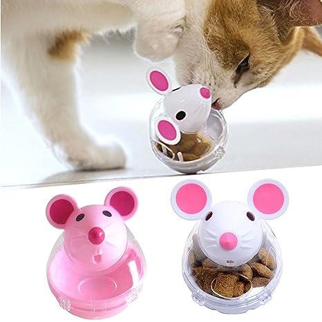Comedero interactivo para gatos Gravitis 2018 (ratón, alimentador lento)