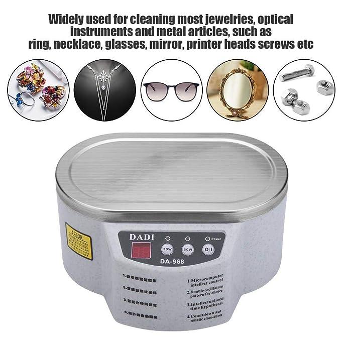 Amazon.com: Zerodis - Limpiador de joyas ultrasónico ...