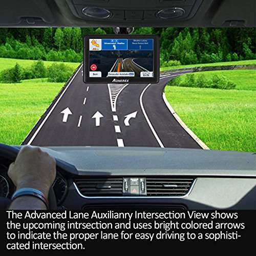 GPS Navigation for Car, Aonerex 7 inch 8GB&256MB GPS