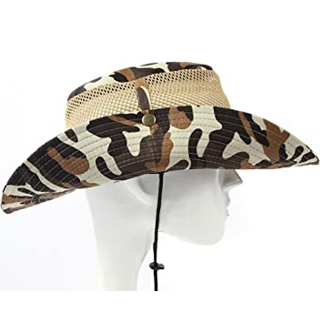 8a29a710991 Woopower Men s Sun Hat Camouflage Bucket Hat