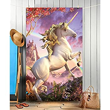 AWESOME UNICORN - Beach Towel