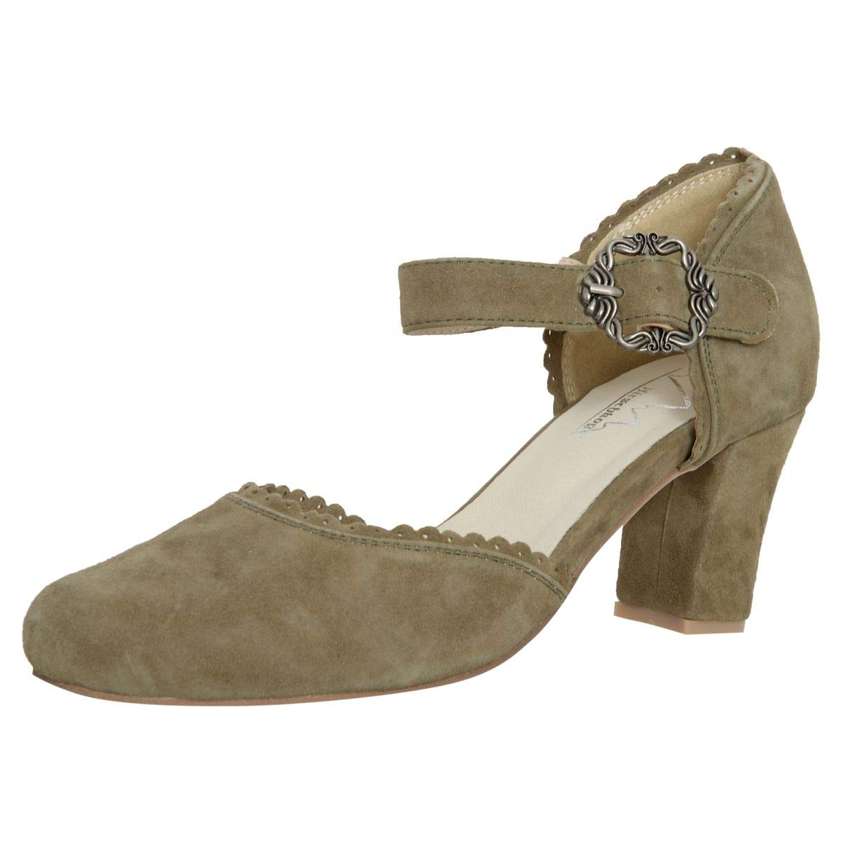 hot sale online 5c98d 8c227 HIRSCHKOGEL Damen Dirndl-Schuhe Pumps Kummerower See ...