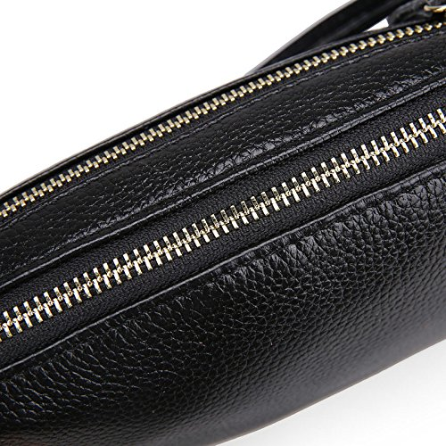Mefly Señoras Bolso Negro bolso Ladies' black