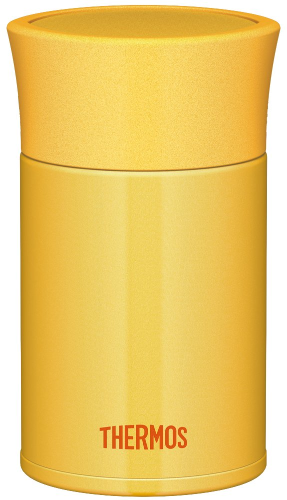 THERMOS vacuum insulation food container 0.25L yellow JBK-250 Y (japan import) THERMOS (Thermos)