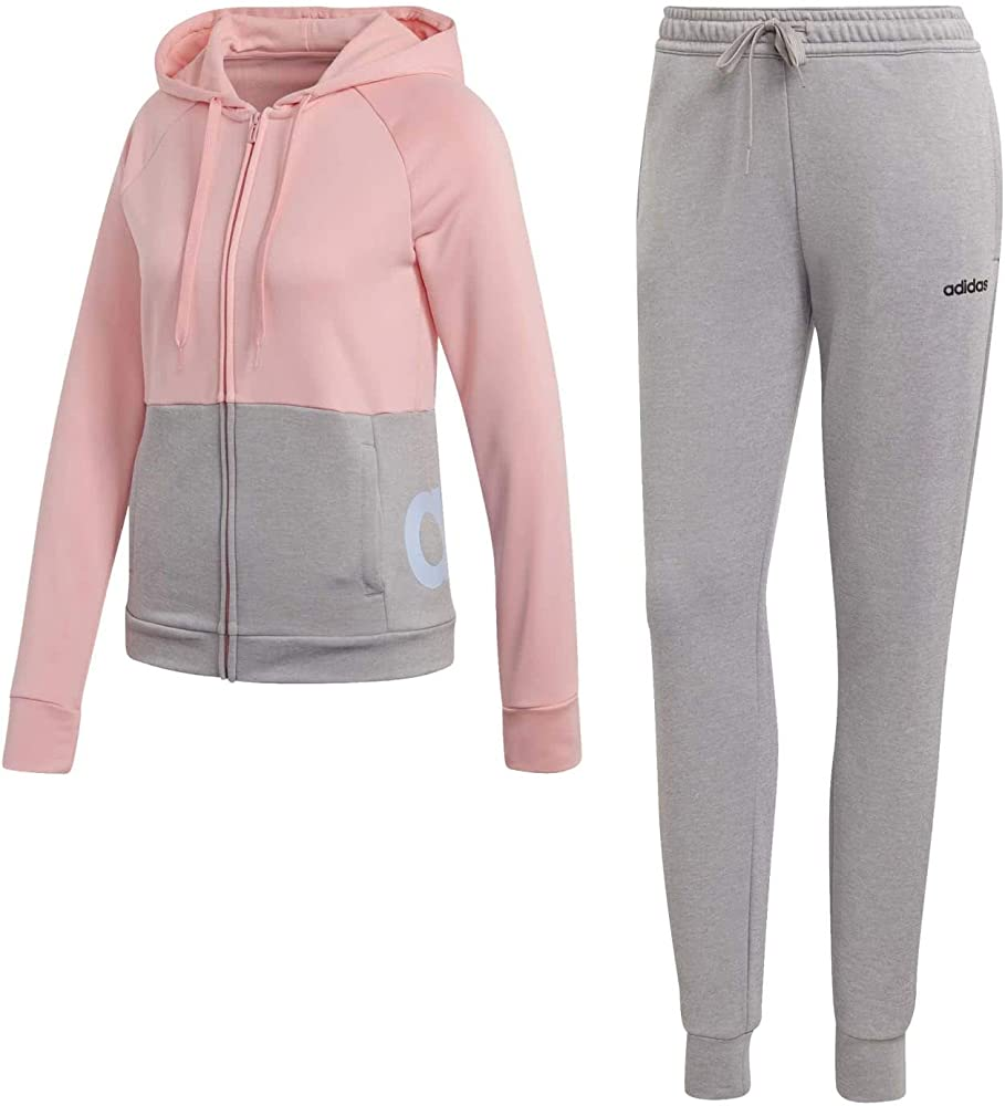 adidas WTS Lin Ft Hood Conjunto Deportivo, Mujer, rosglo/Brgrin ...