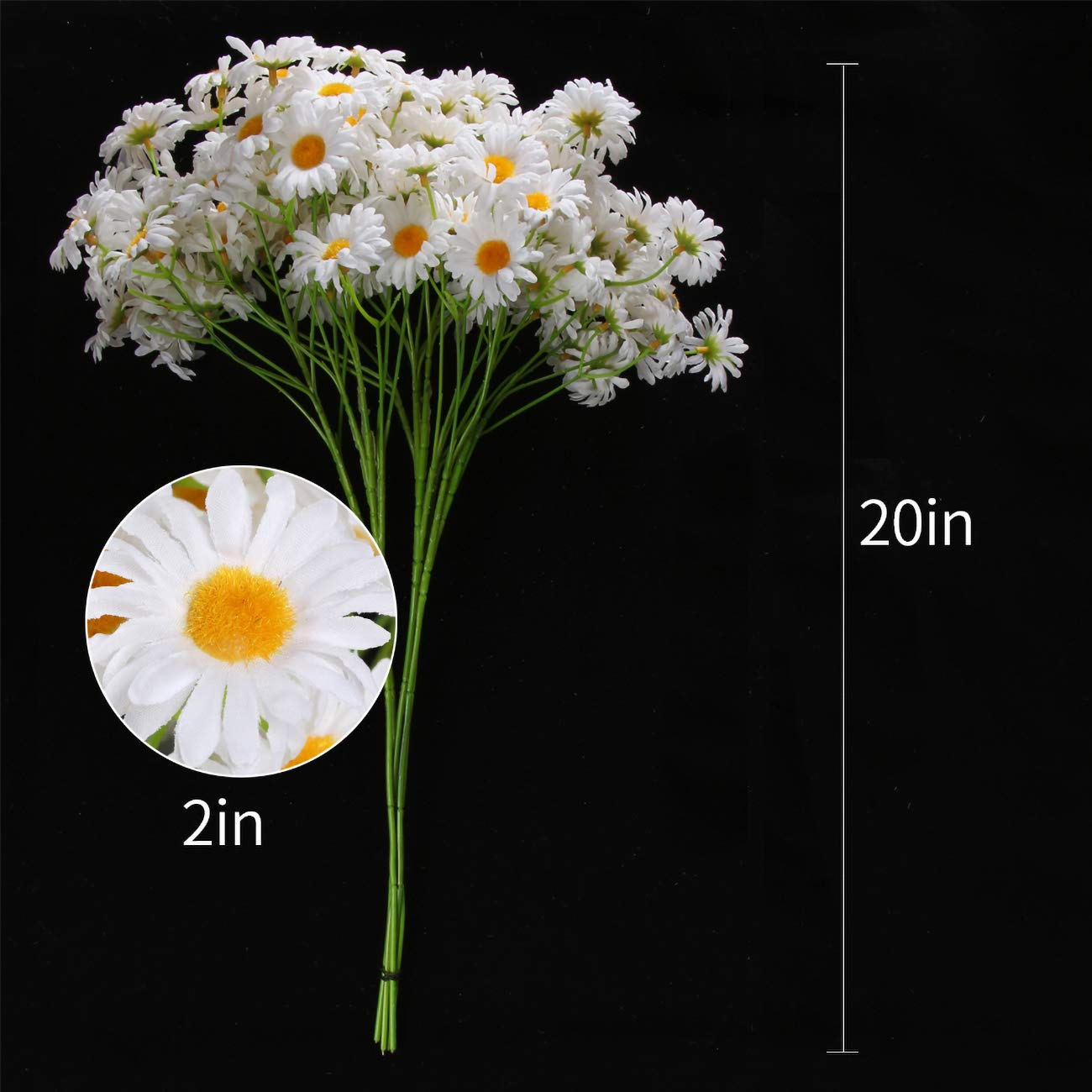 Amazon Amyhomie Artificial Flowers Silk Daisy Artificial
