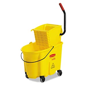 RCP758088YW - Rubbermaid Commercial Mop Bucket/Wringer Combination