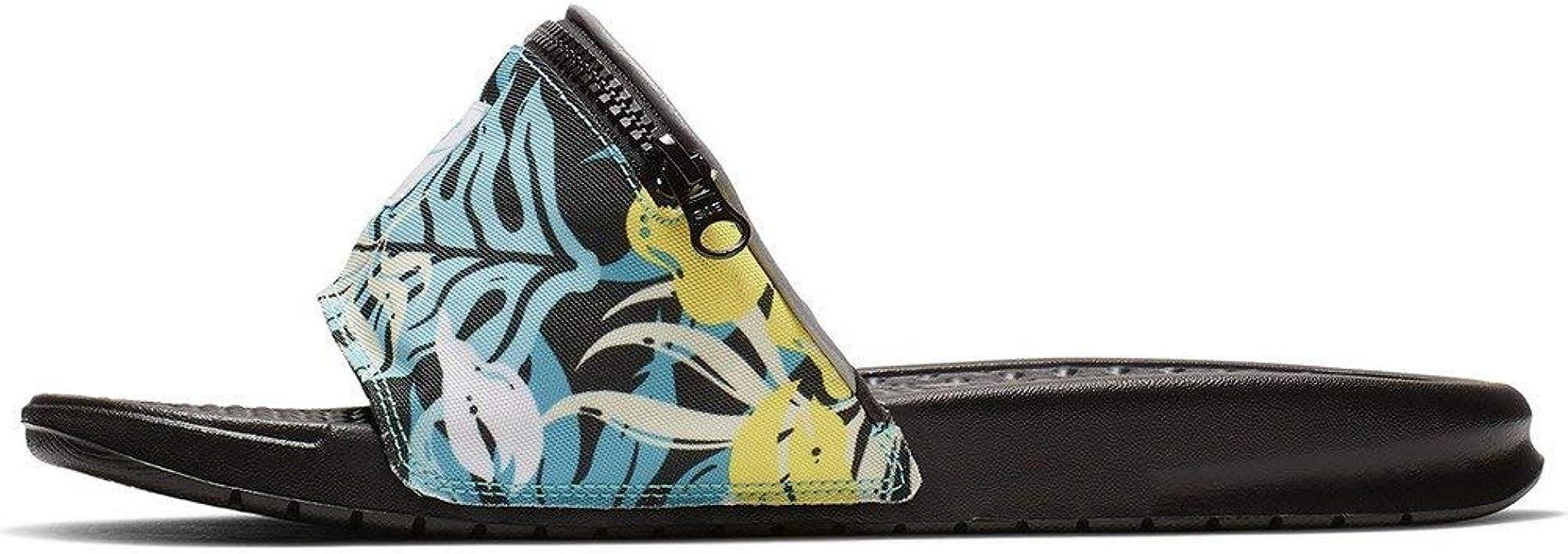 Chanclas Nike Benassi JDI Fanny Pack Print Turquesa 36: Amazon.es: Zapatos y complementos