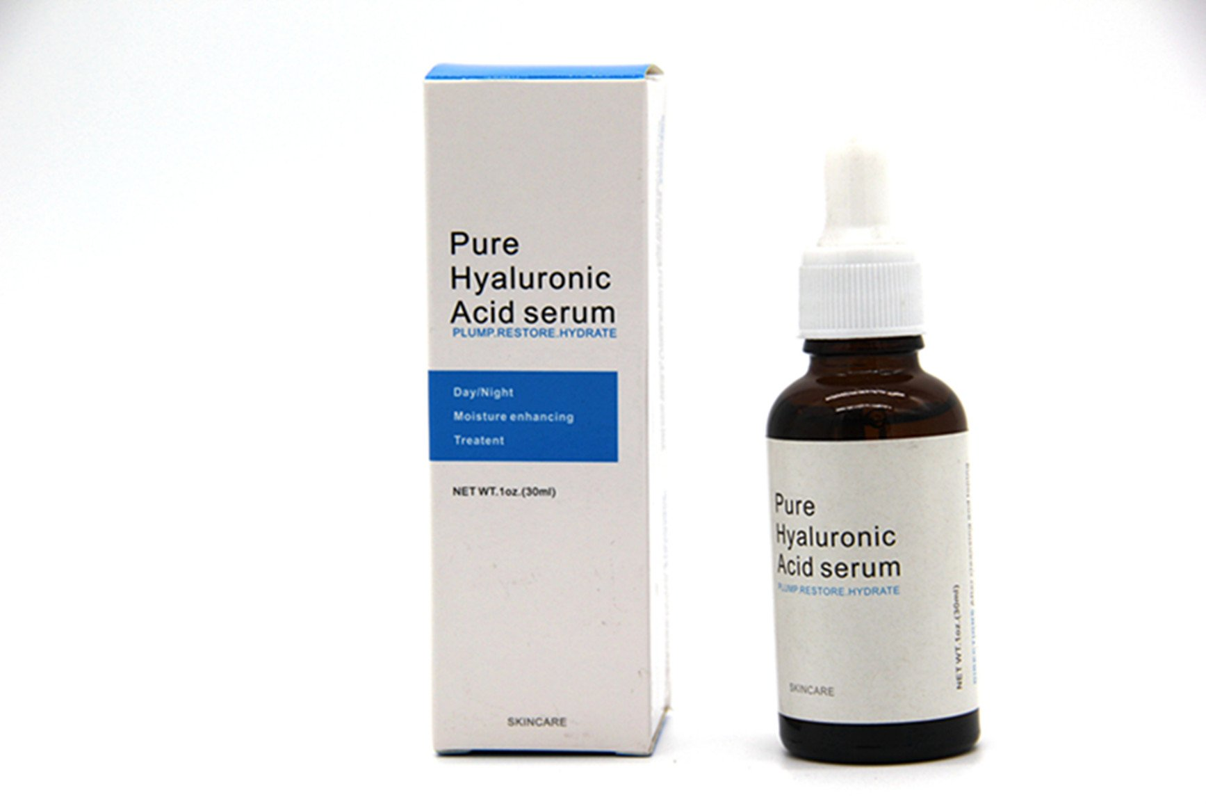 MZH 100% Pure Natural Moisturizer to Hydrate Skin Hyaluronic Acid Serum Facial Anti Wrinkle Serum by MZH