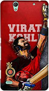 Macmerise Bleed Red Kohli Sublime Case For Sony Xperia C4