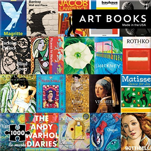 Re-Marks Art Books 1000 Piece Puzzle by Re-Marks