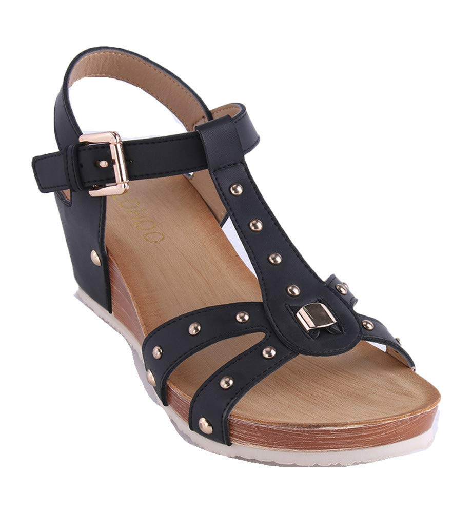 Hhxwu Femmes Sandales Chaussures Grandes Chaussons E29YDIHeW
