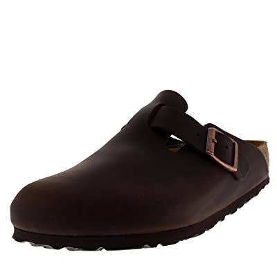 Birkenstock Boston, Unisex Adults' Clogs, Brown (Habana), 8 UK | Mules & Clogs