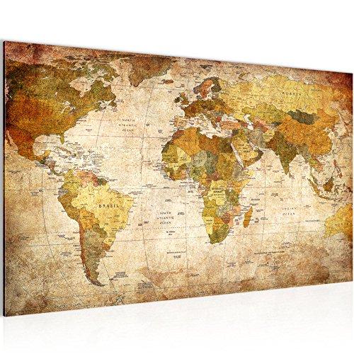 Wandbild 80x60cm GERAHMT Alte Europa Karte Bild Landkarte Map Atlas